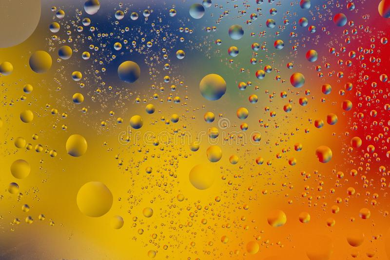 Mixing water and oil backgroud royalty free stock image