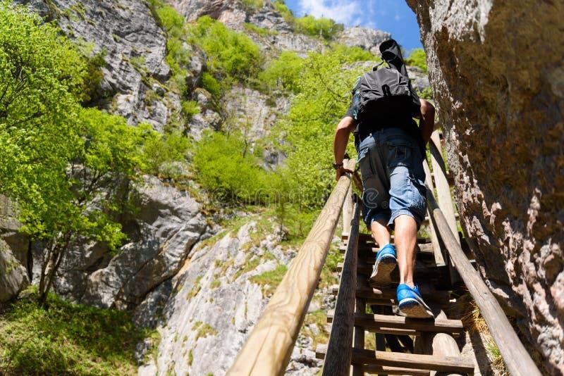Waterfalls in Styria Mixnitz stock photography