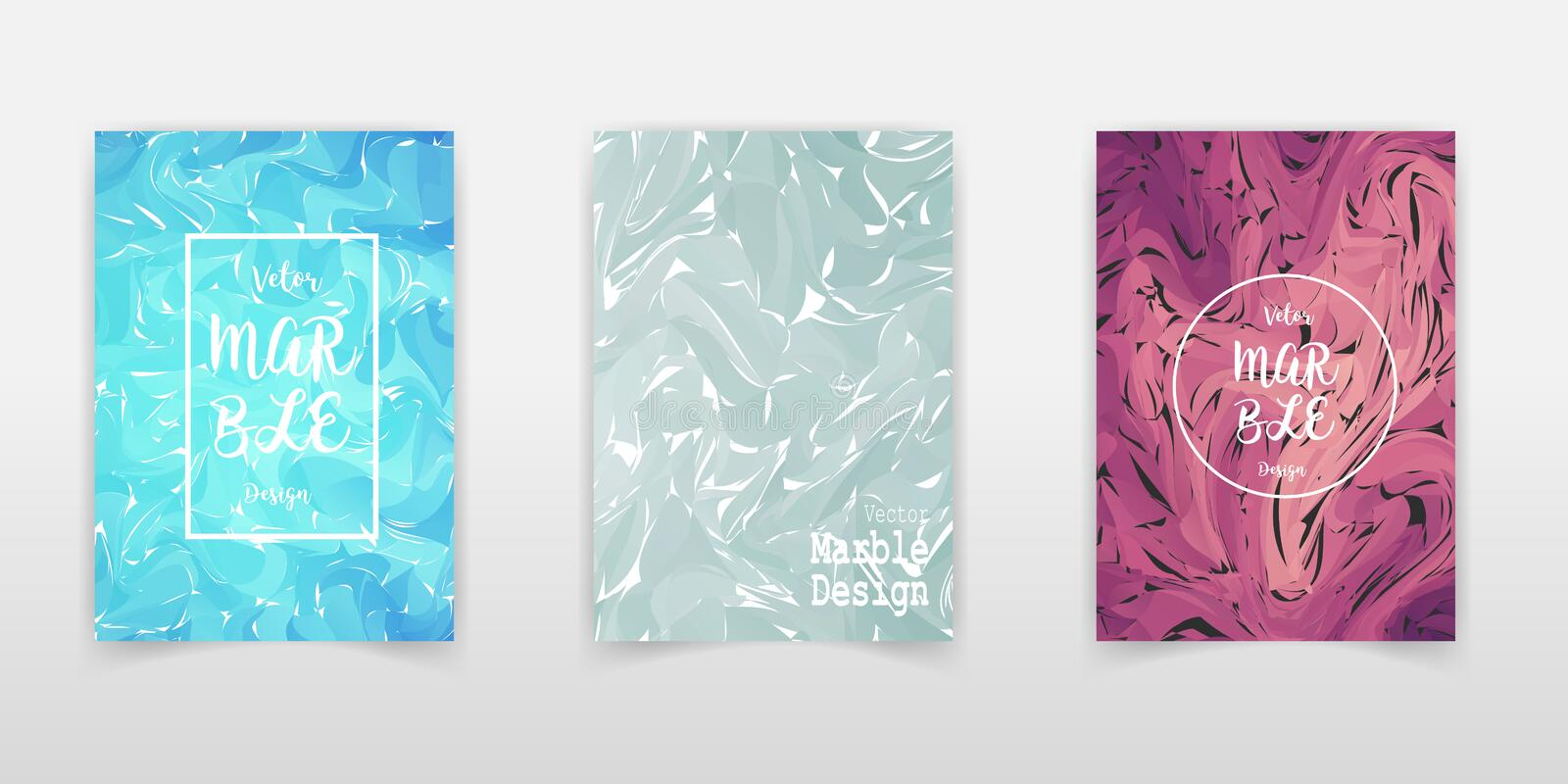 Mixture of acrylic paints. Liquid marble texture. Fluid art. Applicable for design cover, presentation, invitation, flyer, annual stock illustration