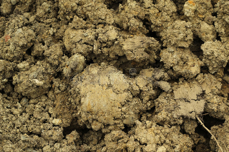 Mixture of soil sandy soil,background royalty free stock photos