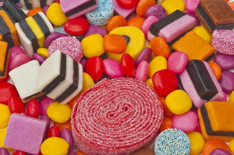 Download Mixture of sweets stock photo. Image of confectionery - 20607688