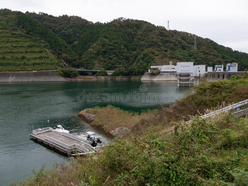 Miyagase-Verdammung lizenzfreie stockfotos
