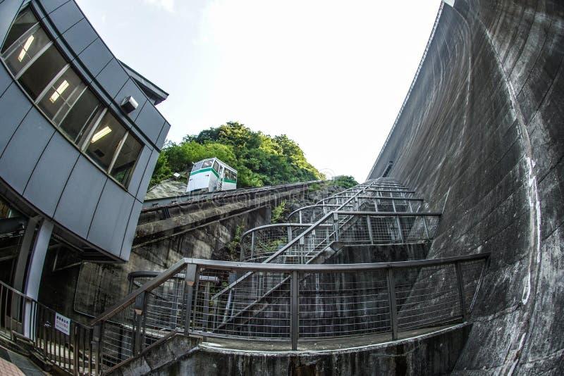 Miyagase-Verdammung Kanagawa stockfotos