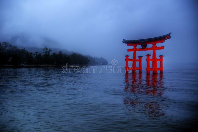 Miyajima, Hiroschima stockbild