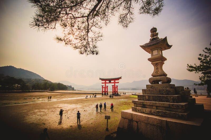 Miyajima Hiroshima image libre de droits