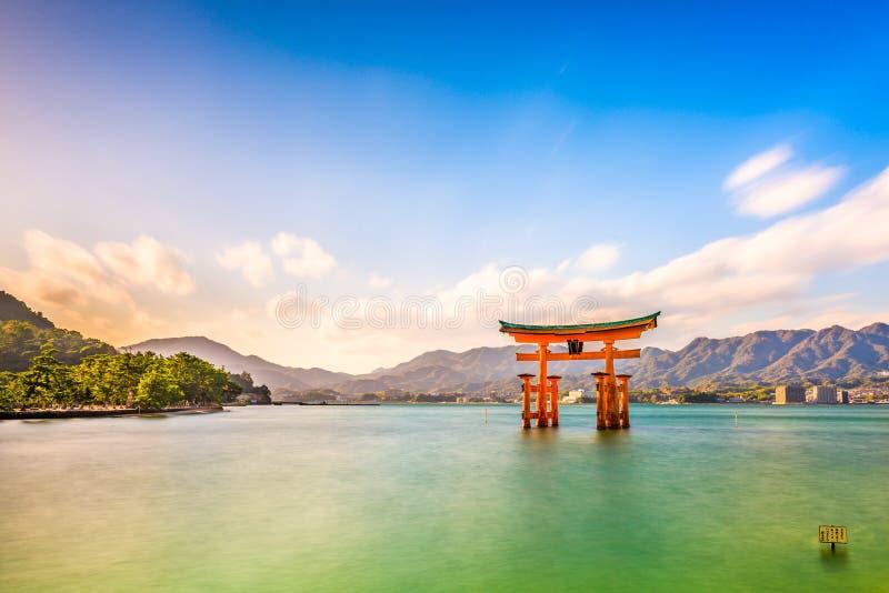 Miyajima, Hiroshima, Japón imágenes de archivo libres de regalías