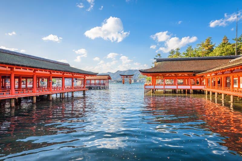 Miyajima, Hiroshima, Japan royalty-vrije stock foto