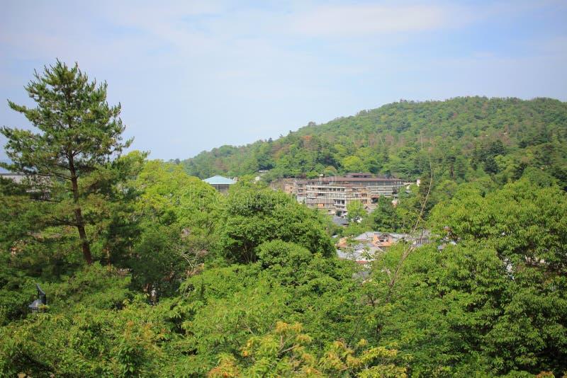 on Miyajima Island at summer 2016 royalty free stock images