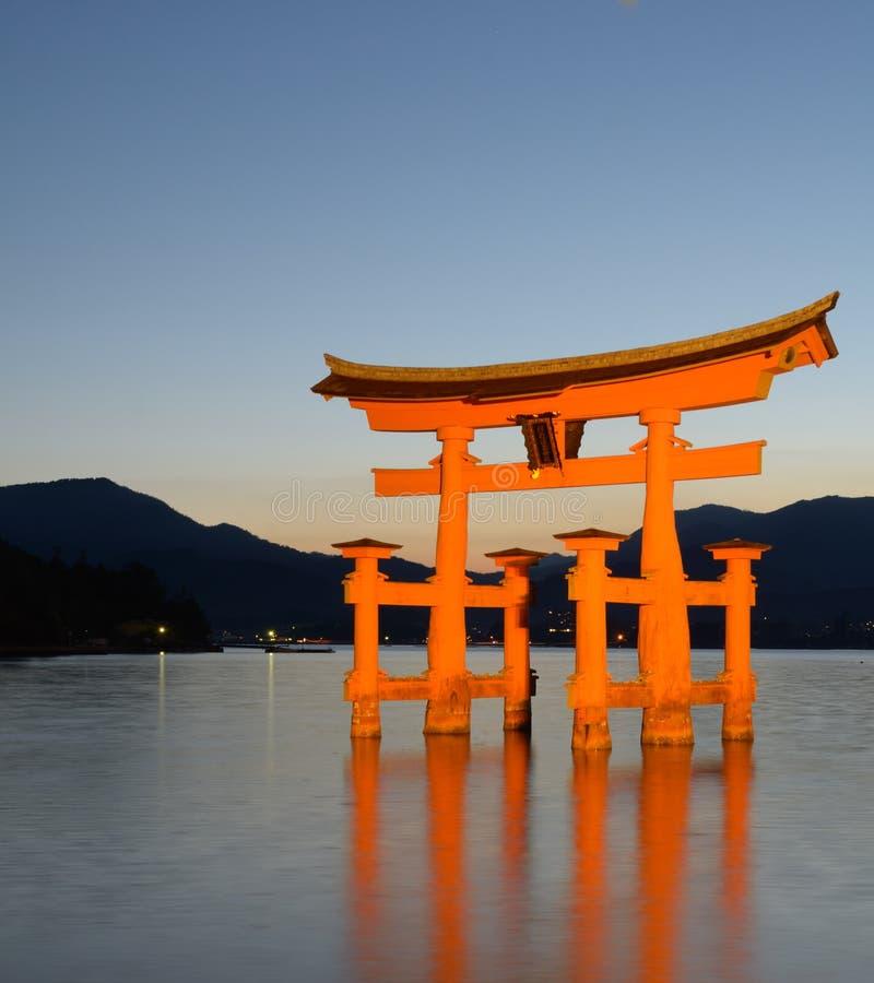 Miyajima-Torus-Gatter stockfoto