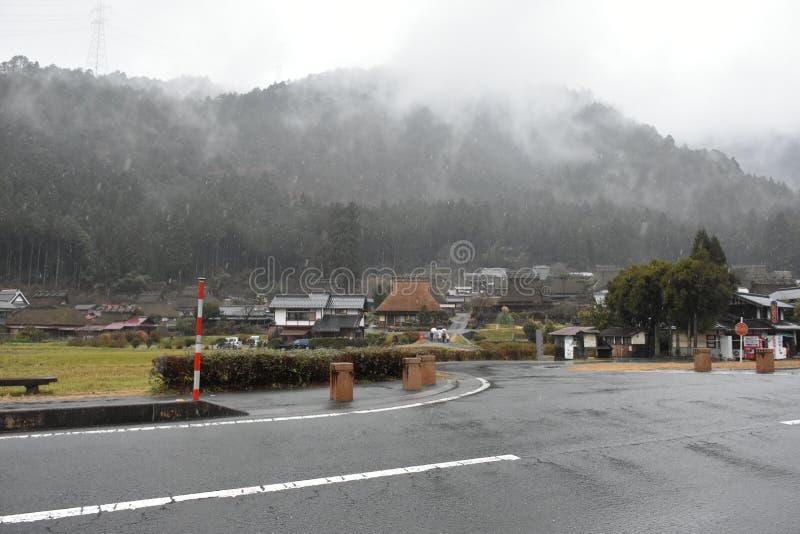 Miyama village in Kyoto, Japan royalty free stock photography