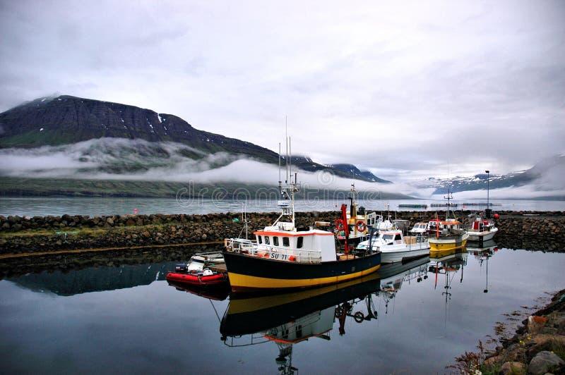 Mjóifjörður, Iceland obrazy stock