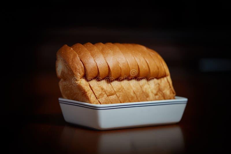 Mjölka bröd arkivbild