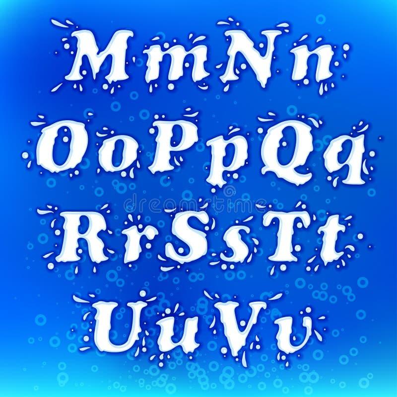 Mjölka färgstänkstilsorten royaltyfri illustrationer