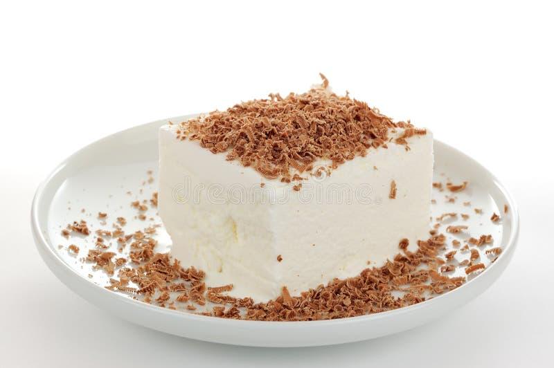 Mjölka icecream arkivfoto