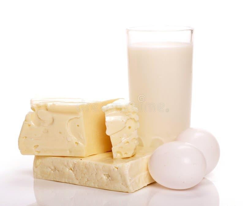 mjölka produkter royaltyfri fotografi