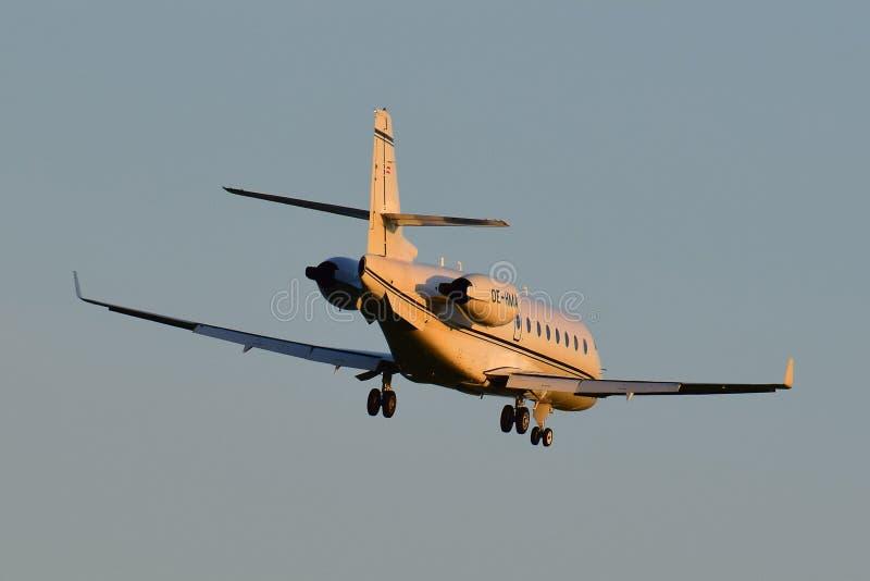 Mjet Gulfstream G200 fotografía de archivo libre de regalías