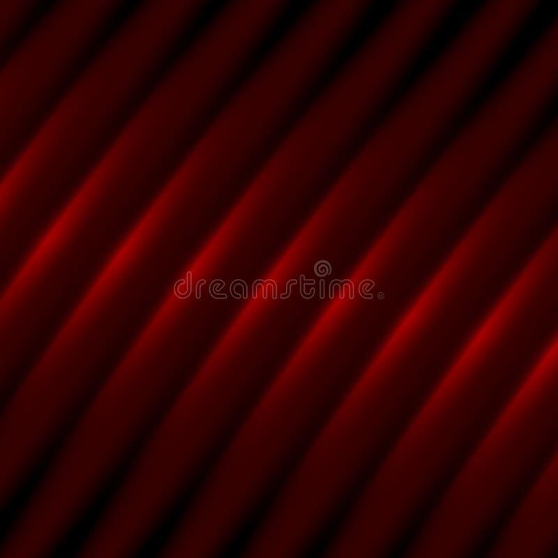 Mjuk abstrakt bakgrund för designkonstverk - slut för metallyttersida upp i skuggor av rött - mörker med skuggor - skuggade textu vektor illustrationer