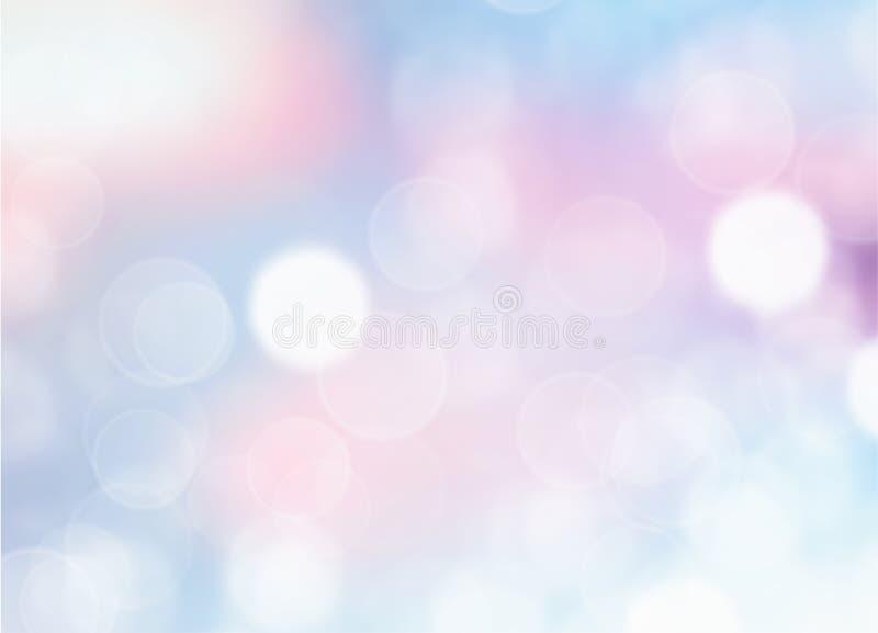 Mjuk blå suddig bakgrund vektor illustrationer