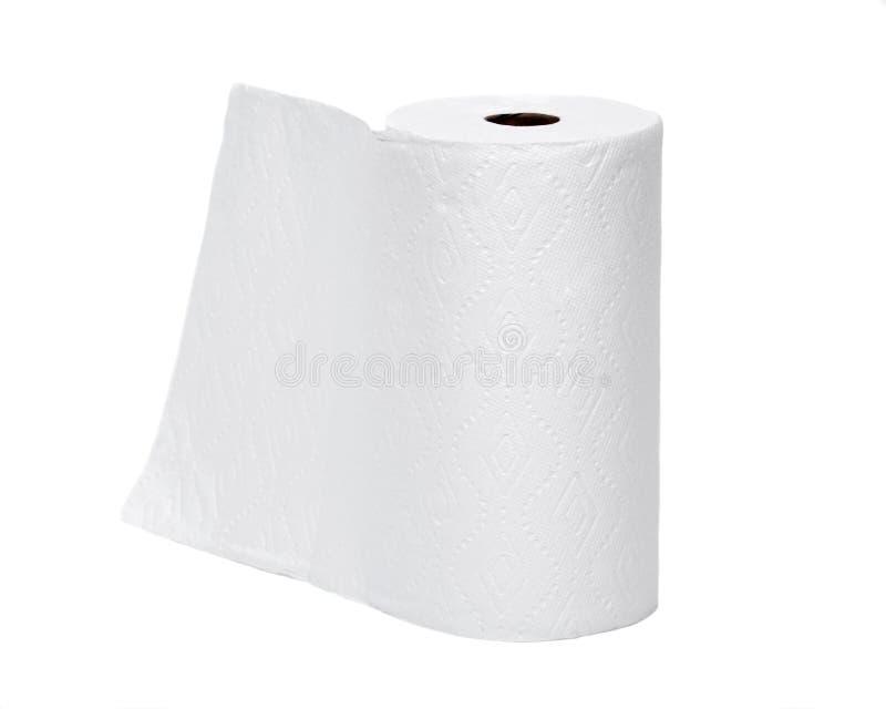 Mjuk pappers- handduk arkivbild