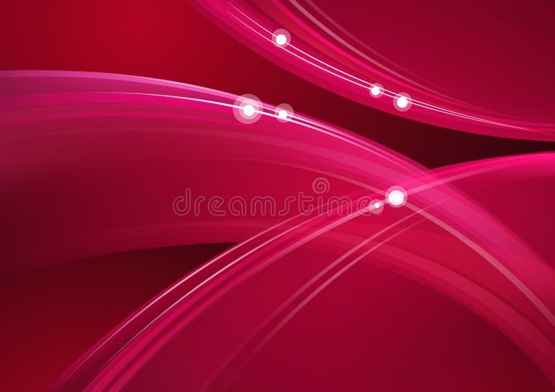 Mjuk purpurfärgad blixt royaltyfria bilder