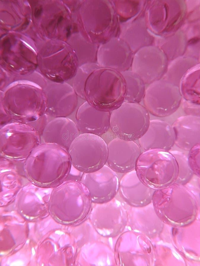 Mjuka rosa gelatinkapslar Mjuka gelatinkapslar N?rbild arkivfoton