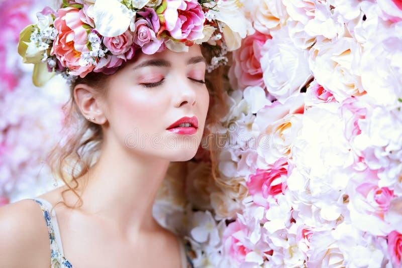 Mjukhet av blommor royaltyfri fotografi