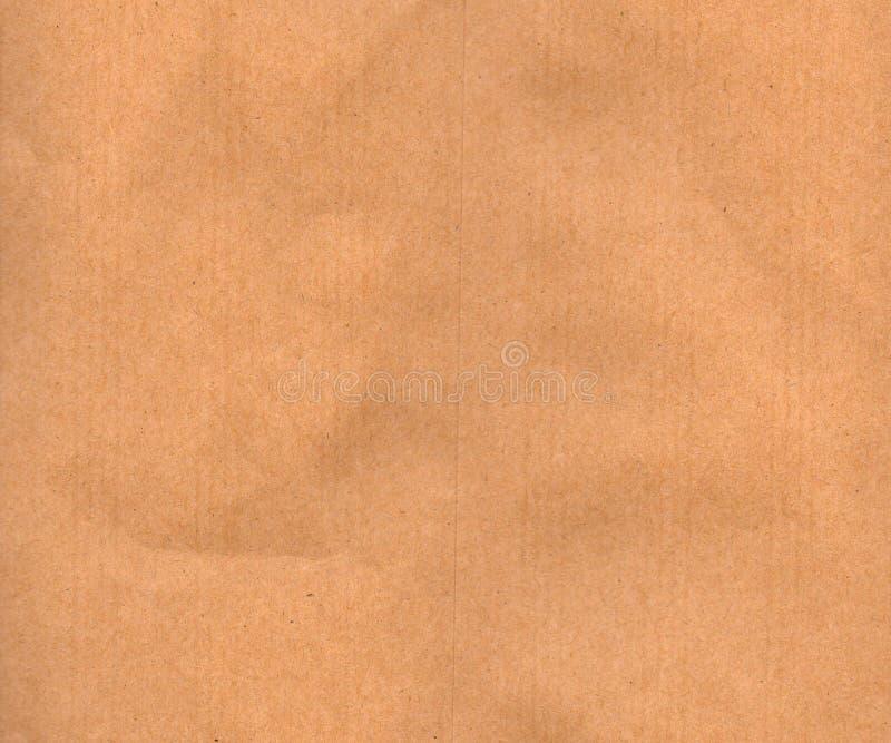 Mjukt brunt papper arkivbild