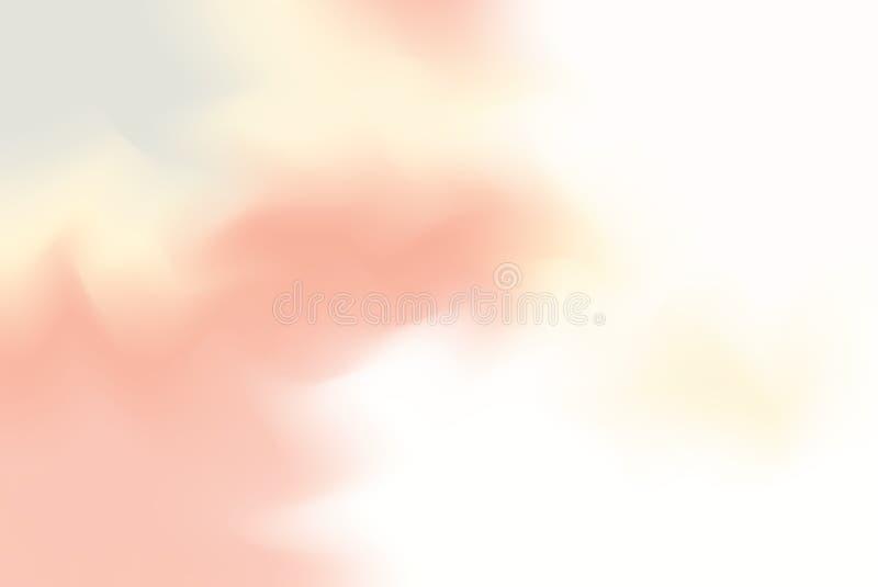 Mjukt för bakgrundsmålning för pastellfärgad färg blandat abstrakt begrepp för pastell för konst, färgrik konsttapet vektor illustrationer
