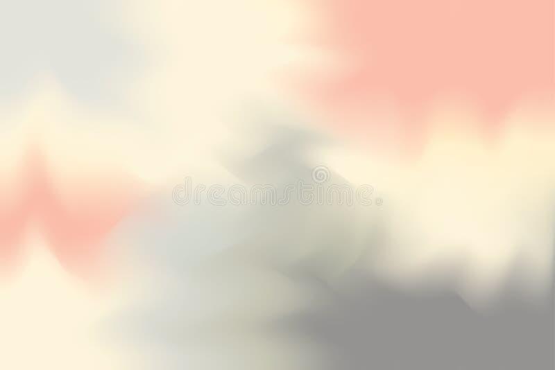 Mjukt för bakgrundsmålning för pastellfärgad färg blandat abstrakt begrepp för pastell för konst, färgrik konsttapet stock illustrationer