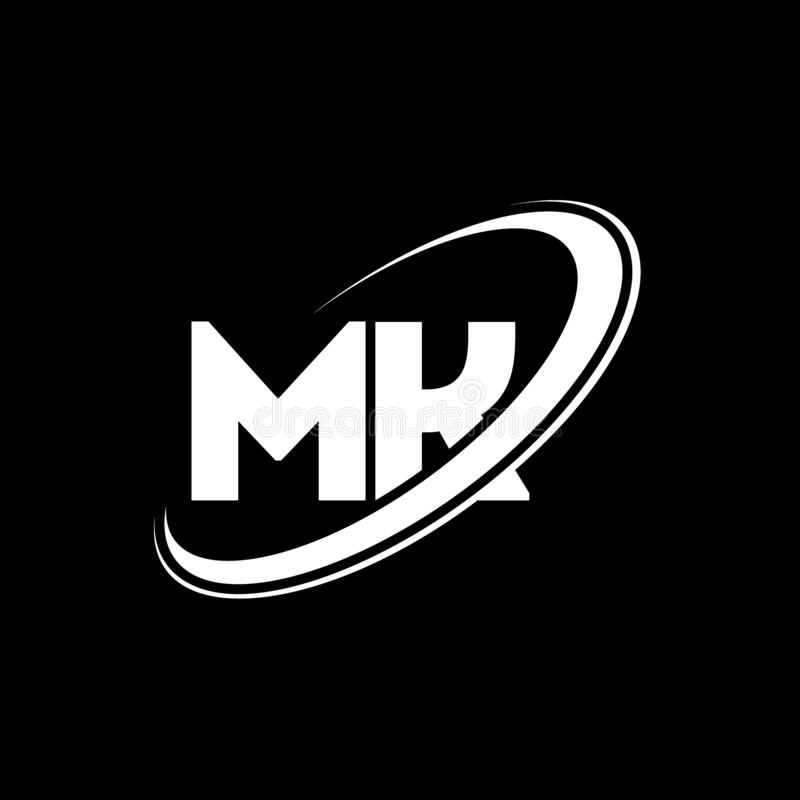 Modern Letter K Logo Concept: Mk M K Letter Logo Design Stock Illustrations 68 Mk M K