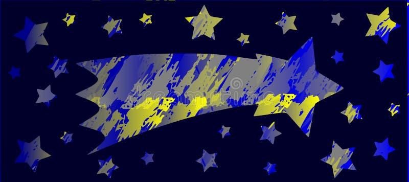 Mknąca gwiazda ilustracji