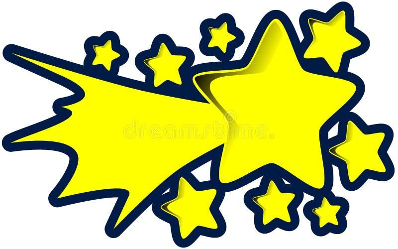 Mknąca gwiazda royalty ilustracja