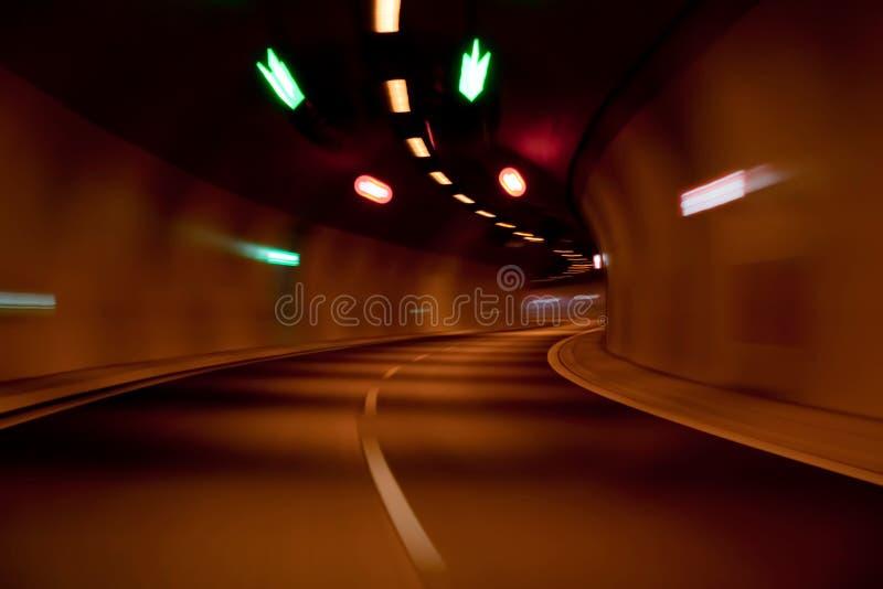 mknięcie tunel drogowy tunel obraz stock