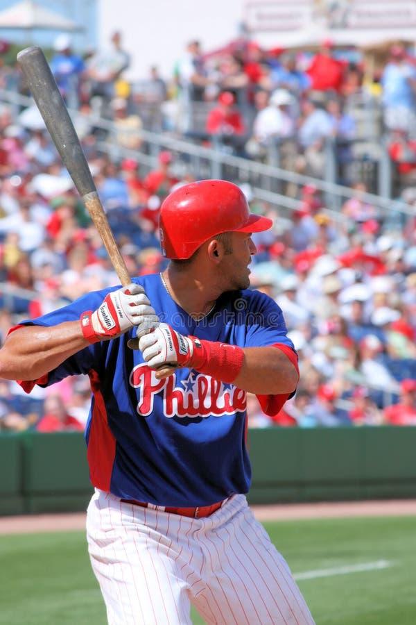 MLB Baseball Philadelphia Phillies PLayer stock photo