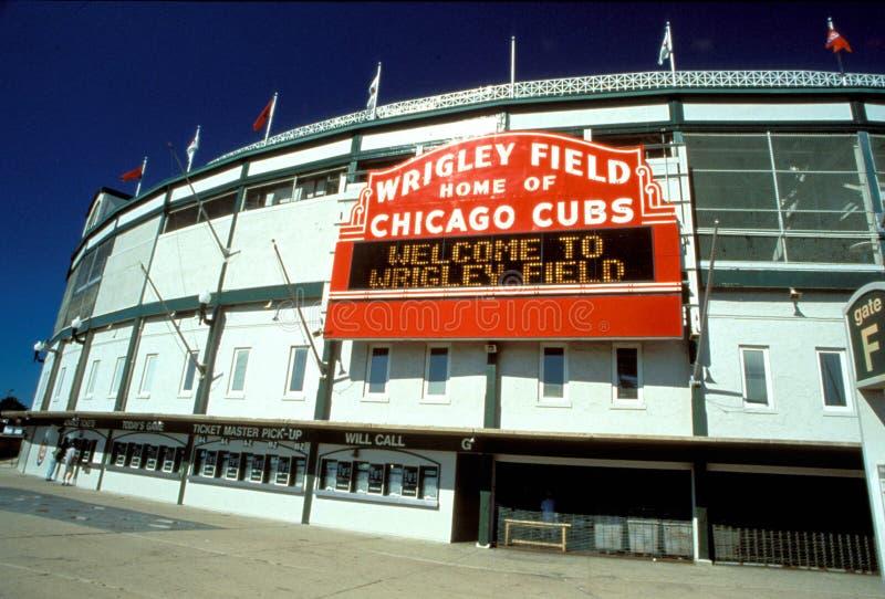 MLB Wrigley colocan imagen de archivo