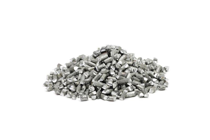 Mlejący aluminium drut fotografia stock