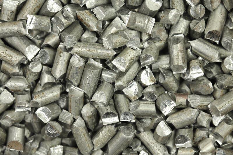 Mlejący aluminium drutu tło zdjęcia royalty free