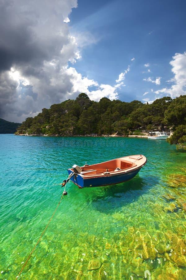 Mljet. Kroatië. royalty-vrije stock foto's