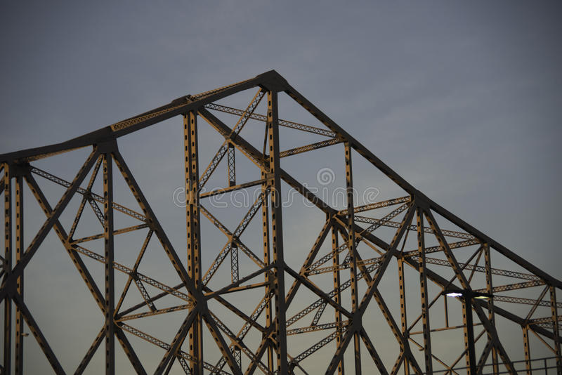 MLK小 桥梁在圣路易斯 免版税库存照片