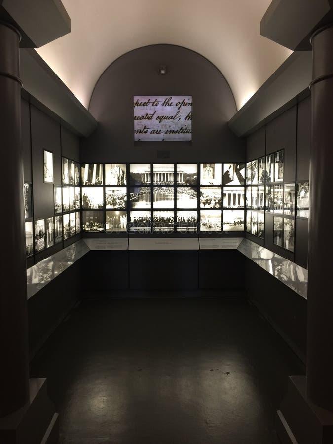 MLK-Denkmal lizenzfreies stockbild