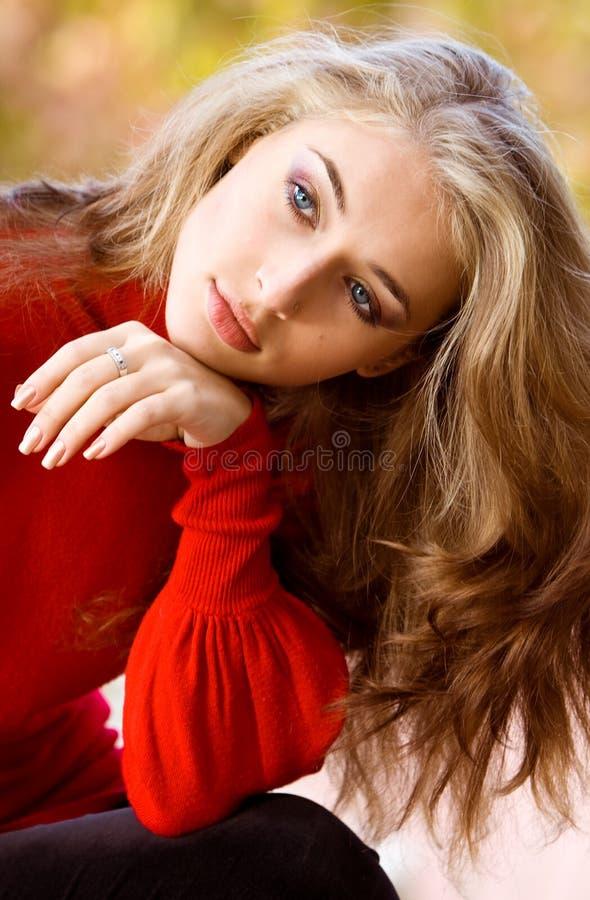 Mlle Autumn photographie stock libre de droits