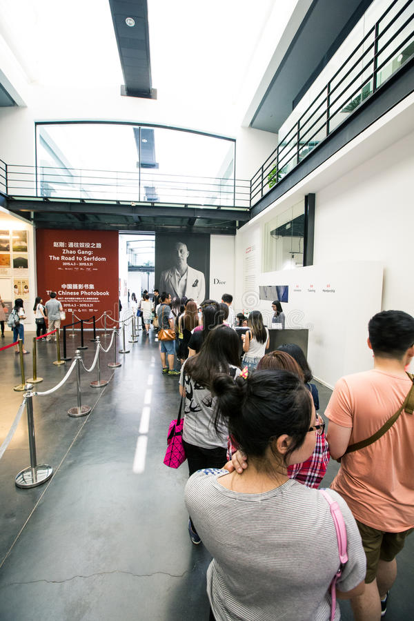 Mlle Dior Exhibition en Chine photo stock