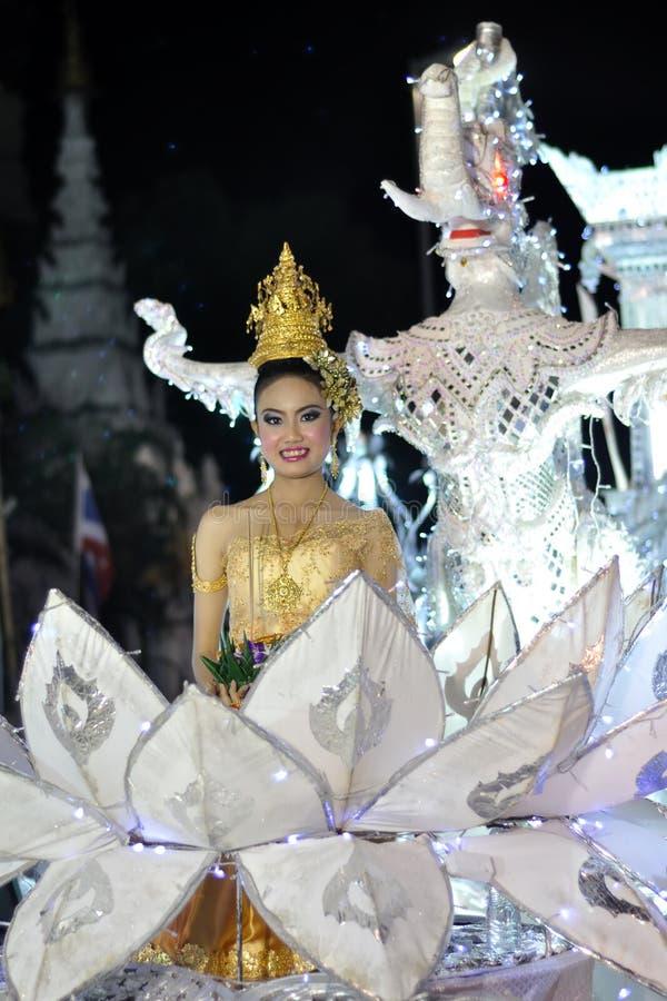 Mlle Loi Krathong photos stock
