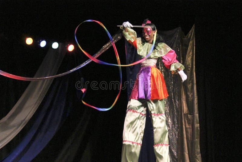 Mlle St. Concurrence 2013 de talent de Croix image libre de droits