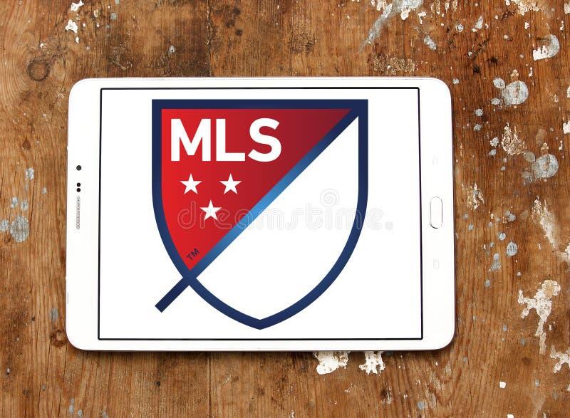 Mls logo arkivfoton