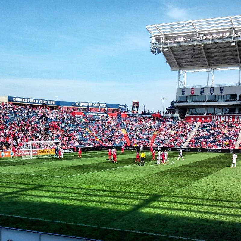 MLS mecz piłkarski obraz stock