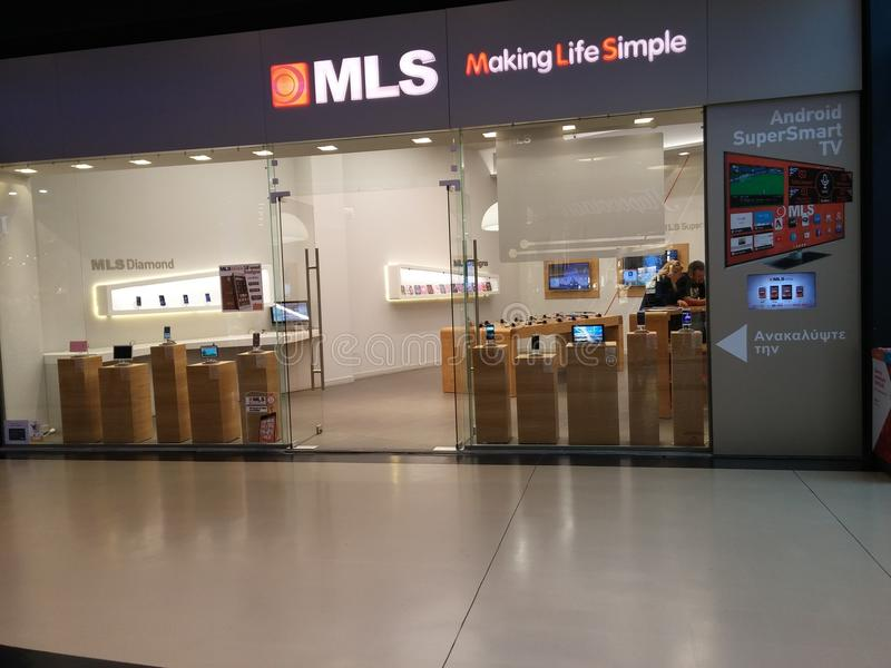 MLS-opslag royalty-vrije stock fotografie