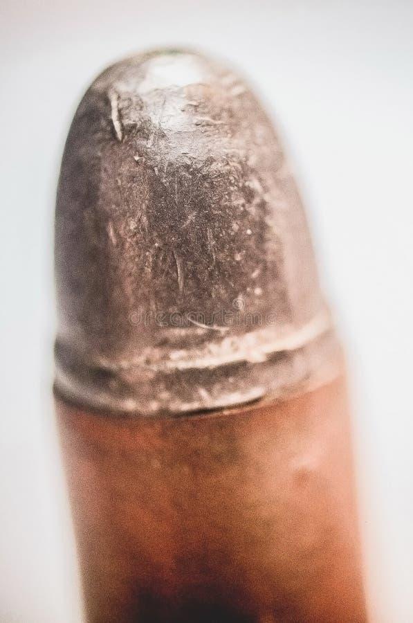 9mm手枪子弹 库存照片
