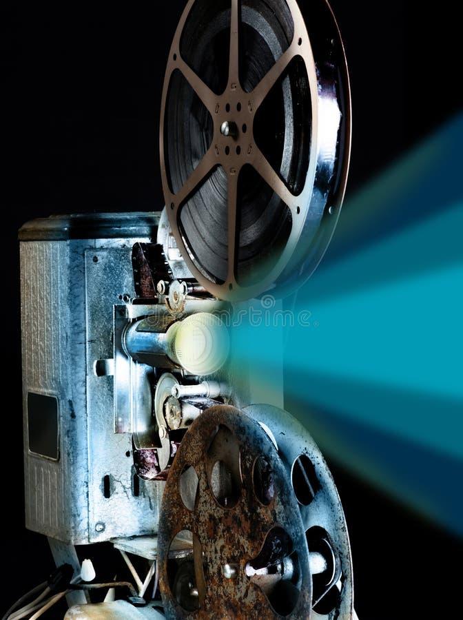 16 mm电影放映机 库存照片