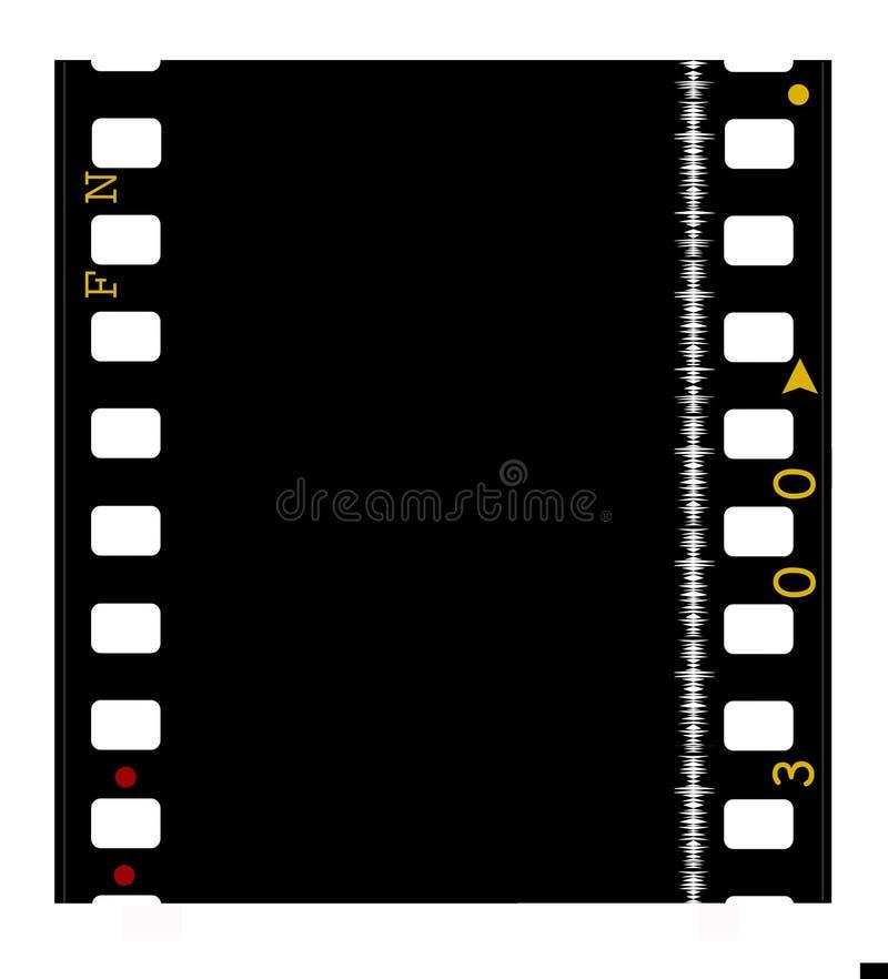 mm 35 filmie roll filmu ilustracja wektor